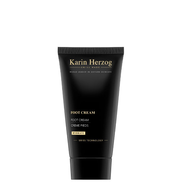 Karin Herzog Foot Cream, crema piedi idratante all'ossigeno (50 ml)